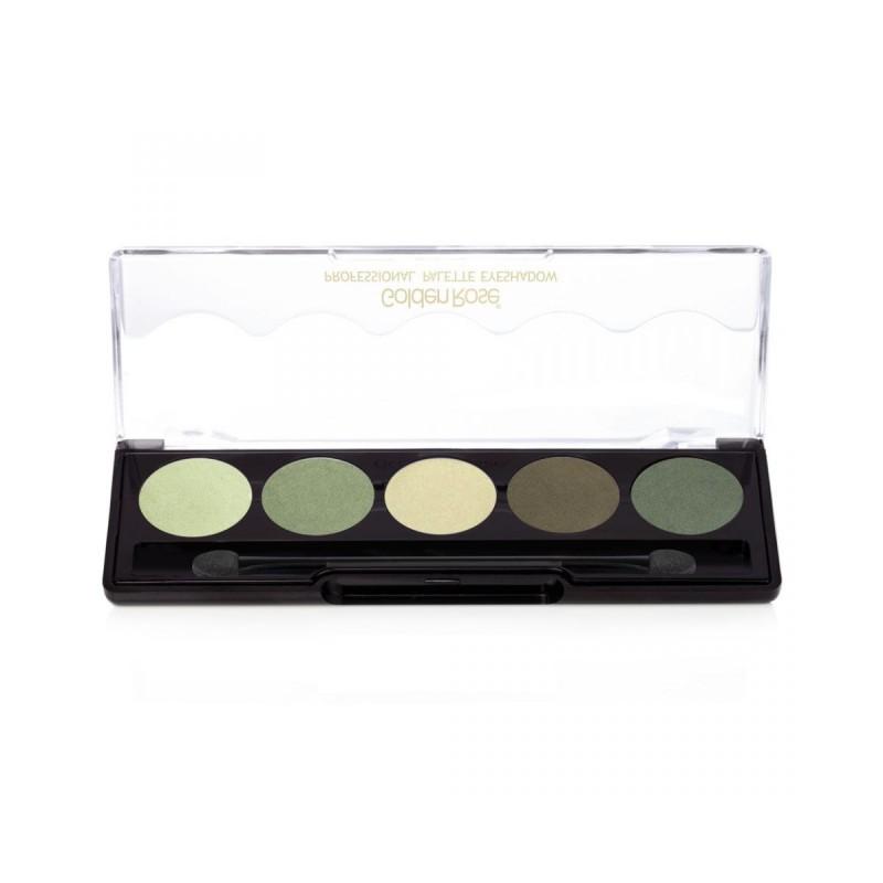 Golden Rose Professional Palette Eyeshadow 102 Paleta cieni do powiek