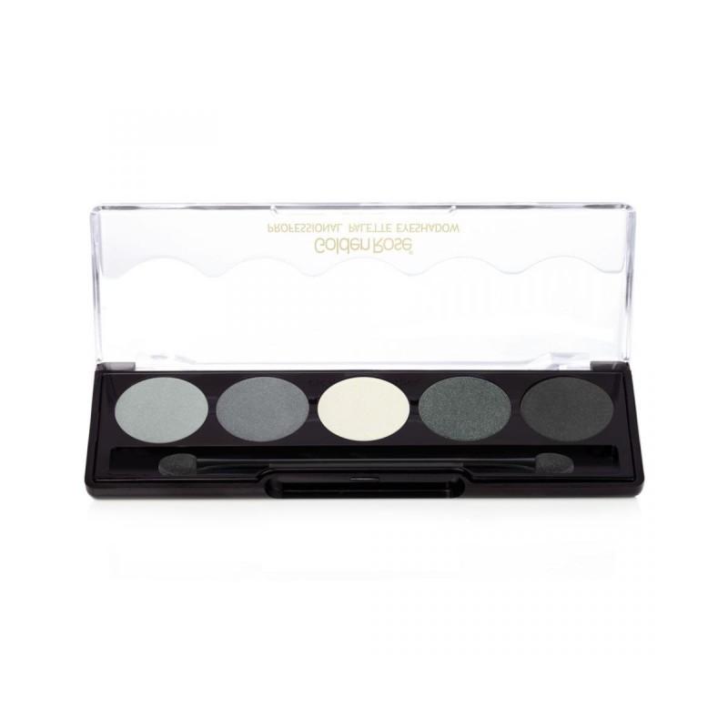 Golden Rose Professional Palette Eyeshadow 104 Paleta cieni do powiek