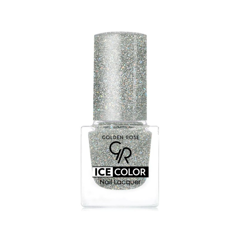 Ice Color Nail Lacquer – Lakier do paznokci - 196 - Golden Rose