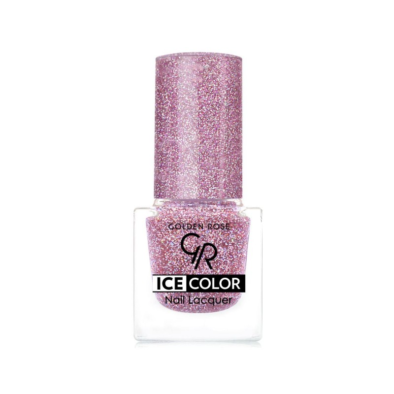 Ice Color Nail Lacquer – Lakier do paznokci - 197 - Golden Rose