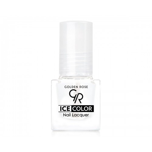 Ice Color Nail Lacquer – Lakier do paznokci - CLEAR - Golden Rose