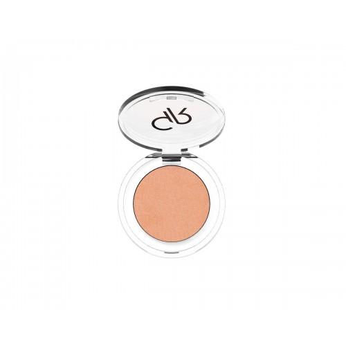 Soft Color Pearl Mono Eyeshadow - Perłowy cień do powiek - 52 - Golden Rose