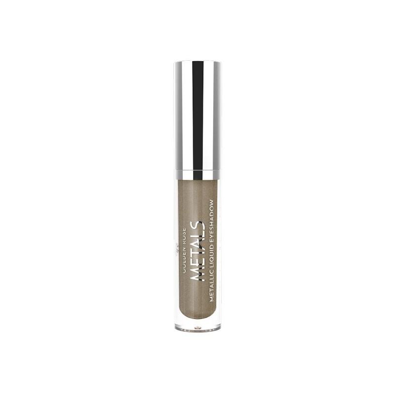 Golden Rose Metals Metallic Liquid Eyeshadow 107 Metaliczny cień do powiek w płynie