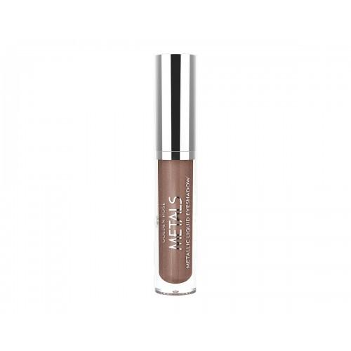 Metals Metallic Liquid Eyeshadow - Metaliczny cień do powiek w płynie - 108 - Golden Rose