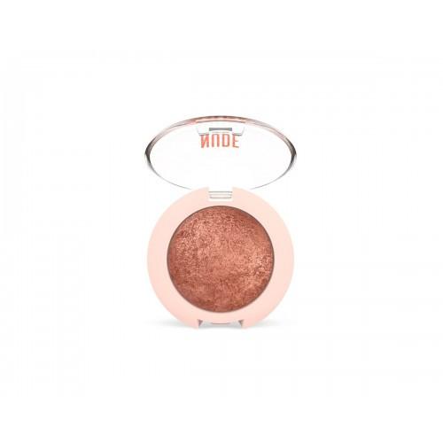 Pearl Baked Eyeshadow - Nude Look Wypiekany perłowy cień do powiek - 02 - Golden Rose