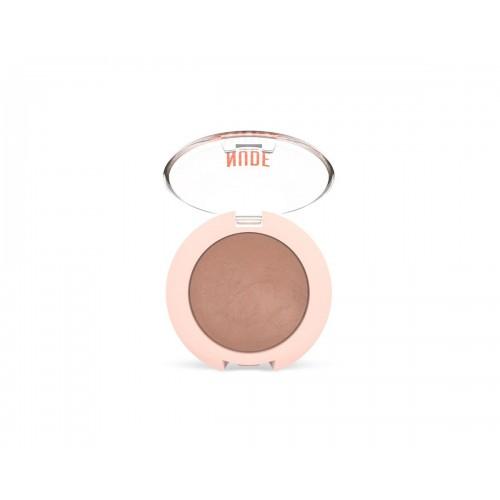 Matte Baked Eyeshadow - Nude Look Wypiekany perłowy cień do powiek - Caramel - Golden Rose