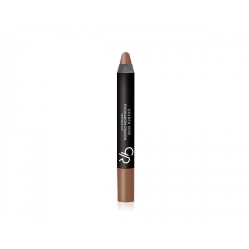 Eyeshadow Crayon - Cień do powiek w kredce - 14 - Golden Rose