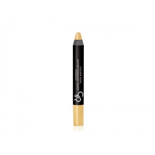 Eyeshadow Glitter Crayon - Cień do powiek w kredce - 53 - Golden Rose