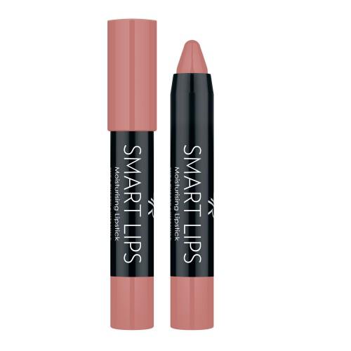 Smart Lips - 01 - Nawilżająca pomadka w kredce - Golden Rose
