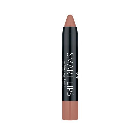 Smart Lips - 03 - Nawilżająca pomadka w kredce - Golden Rose