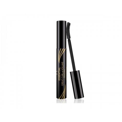 Essential Great Curl & Volume Mascara - Podkręcający i pogrubiający tusz do rzęs - Golden Rose