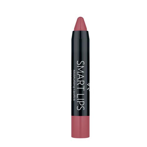 Smart Lips - 09 - Nawilżająca pomadka w kredce - Golden Rose