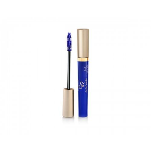 Perfect Lashes Blue Mascara - Niebieski tusz do rzęs - Golden Rose