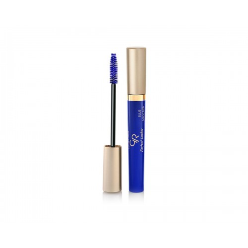 Perfect Lashes Blue Mascara - Niebieski tusz do rzęs - Golden Rose