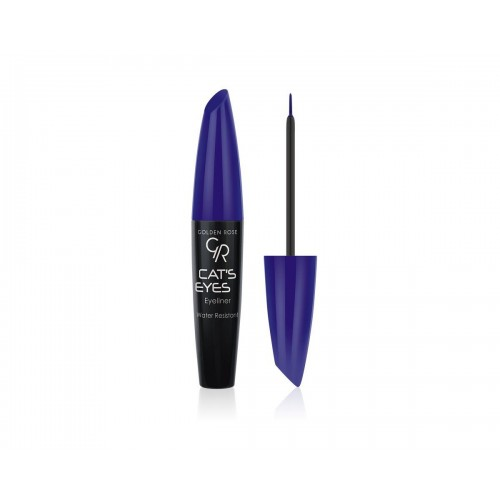 Cat's Eye Liner -Tusz do kresek niebieski - Golden Rose