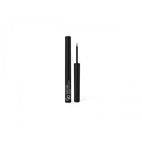Smart Liner Matte&Intense Black Eyeliner - Smart liner z filcową końcówką - Golden Rose