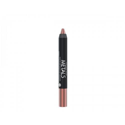 Golden Rose Metals Matte Metallic Lip Crayon 03 Metaliczna, matowa pomadka  w kredce