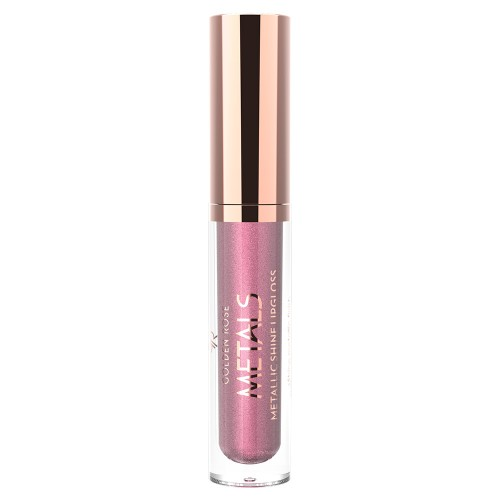 Metals Metallic Shine Lipgloss - 01 - Metaliczny błyszczyk do ust - Golden Rose