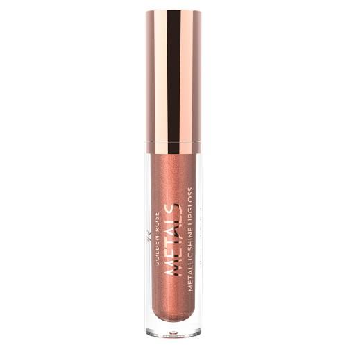 Metals Metallic Shine Lipgloss - 05 - Metaliczny błyszczyk do ust - Golden Rose