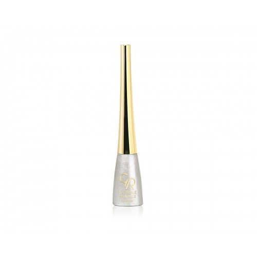 Extreme Sparkle Eyeliner - Brokatowy tusz do kresek 101- Golden Rose