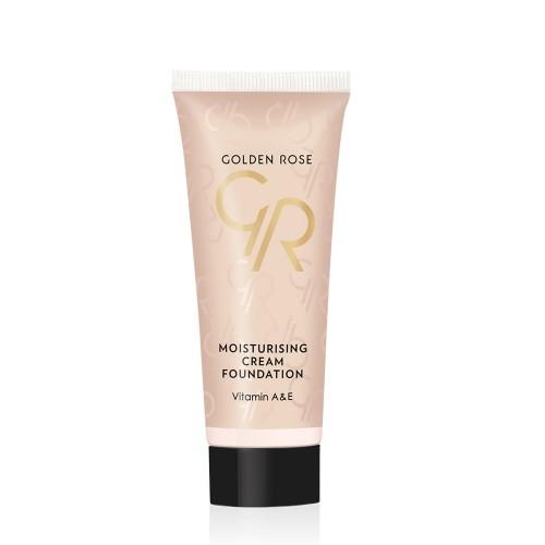 Moisturizing Cream Foundation - 01 - matujący podkład w kremie - Golden Rose