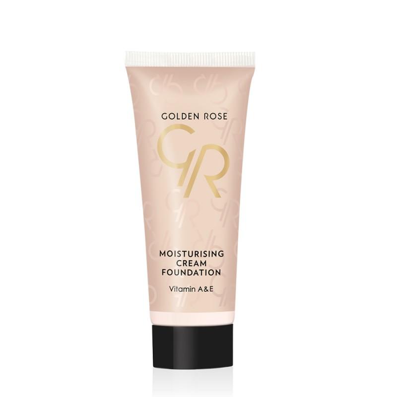 Moisturizing Cream Foundation - matujący podkład w kremie - Golden Rose