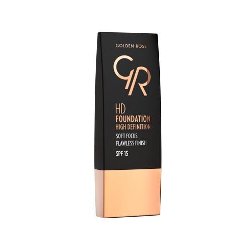 HD Foundation - 107 - Podkład HD - Golden Rose