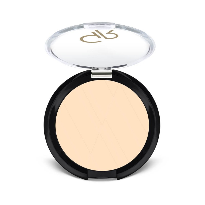 Silky Touch Compact Powder - Puder matujący - Golden Rose