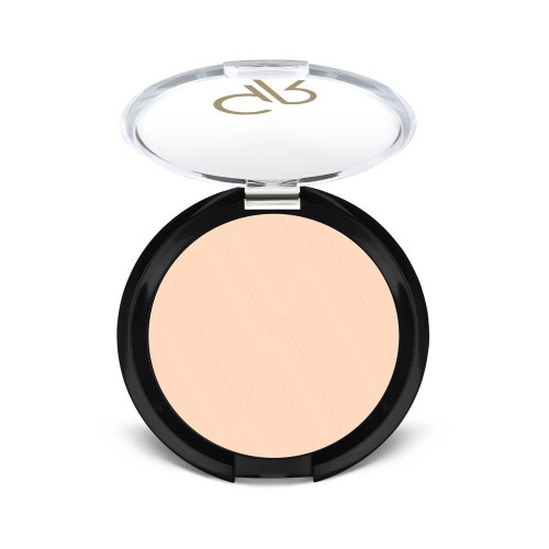 Silky Touch Compact Powder - 03 - Puder matujący - Golden Rose