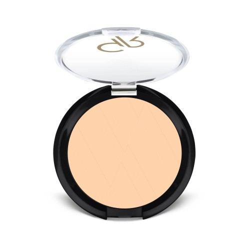 Silky Touch Compact Powder - 04 - Puder matujący - Golden Rose