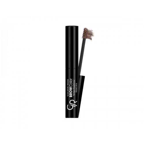Brow Color Tinted Eyebrow Mascara - 02 - Przyciemniająca mascara do brwi - Golden Rose