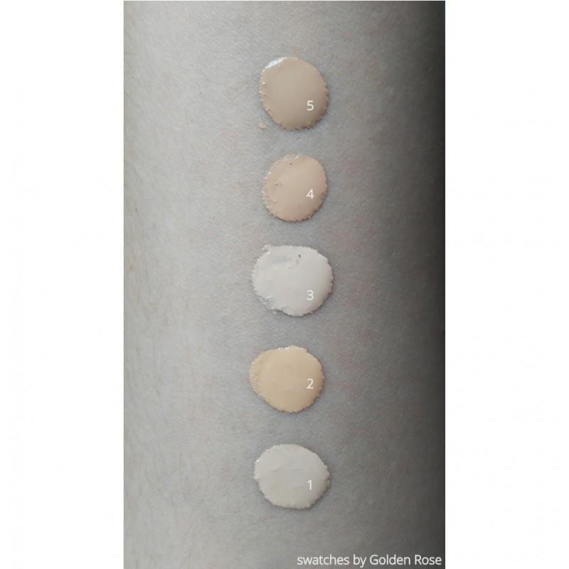 Golden Rose Longstay Matte Foundation 01 Długotrwale matujący podkład do twarzy