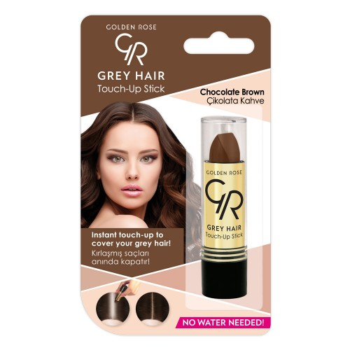 Grey Hair Touch-Up Stick - 08 - Sztyft do włosówna odrosty - Golden Rose