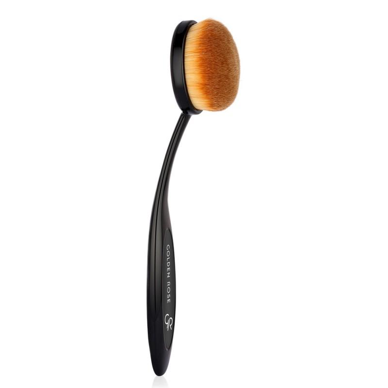 Golden Rose Oval Powder & Bronzer Brush Owalny pędzel do pudru i bronzera
