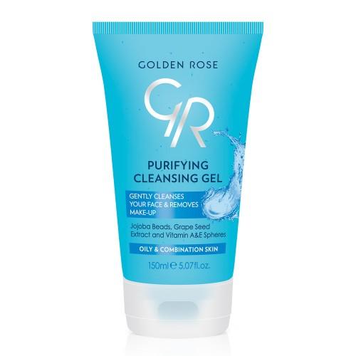 Purifying Cleansing Gel - Oczyszczający żel do mycia twarzy - Golden Rose