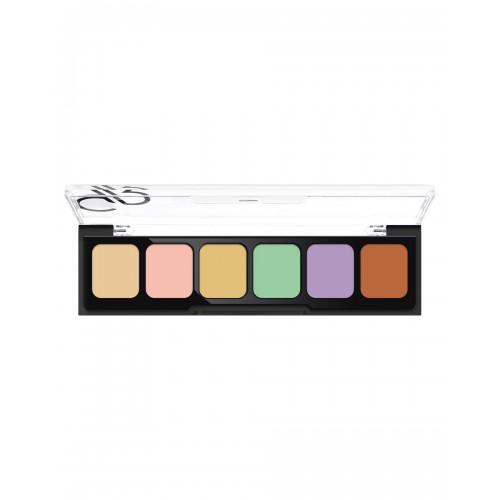 Correct&Conceal Camouflage Cream Palette - Korygująca i tuszująca paleta kamuflażu - Golden Rose