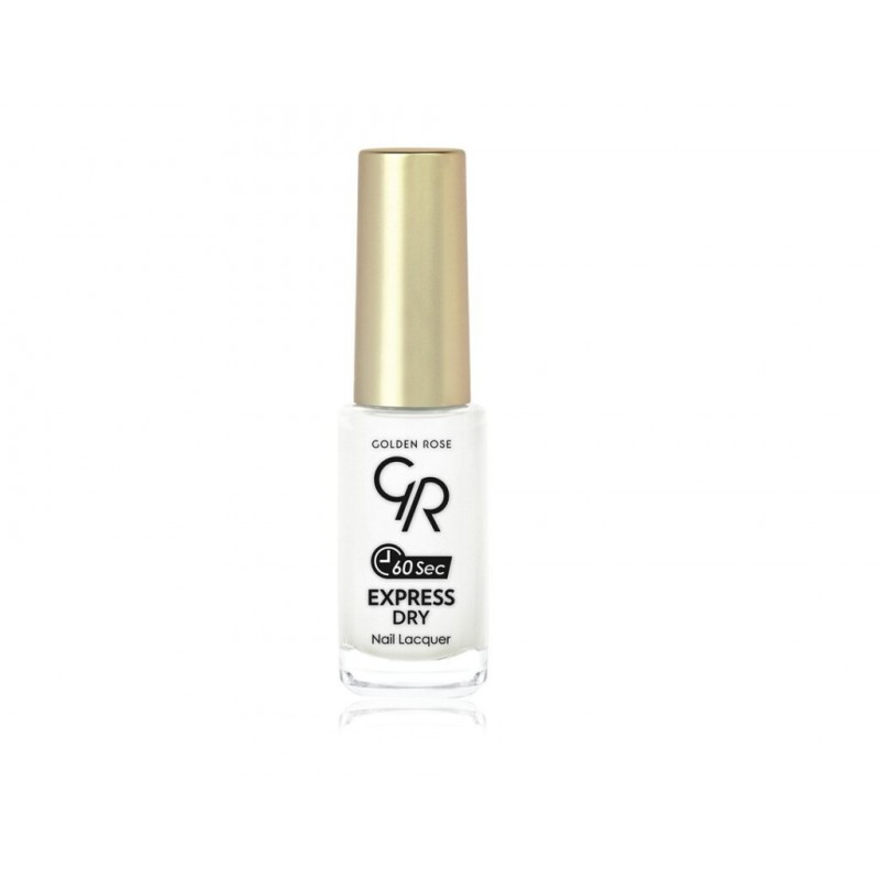 Express Dry Nail Lacquer -02- Szybkoschnący lakier do paznokci - Golden Rose