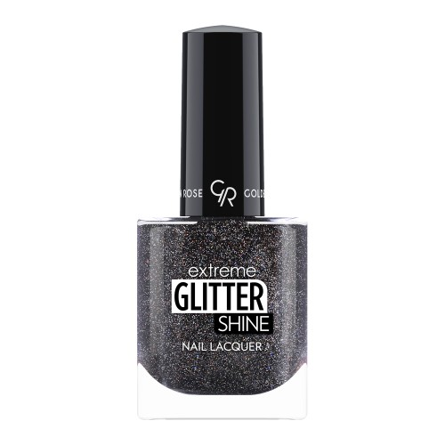 Golden Rose Extreme Glitter Shine Nail Lacquer 212 Lakier do paznokci Extreme Glitter Shine