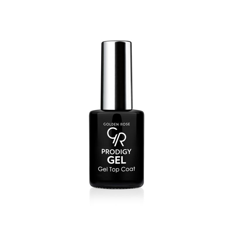 Prodigy Gel Top Coat - Utwardzacz żelowy do paznokci - Golden Rose