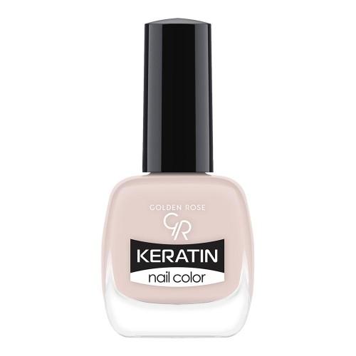 Golden Rose Keratin Nail Color 06 Keratynowy lakier do paznokci
