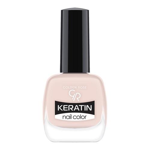 Golden Rose Keratin Nail Color 07 Keratynowy lakier do paznokci