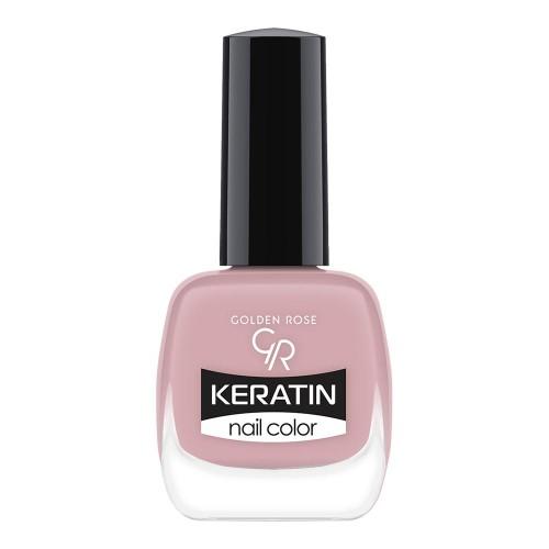 Golden Rose Keratin Nail Color 14 Keratynowy lakier do paznokci