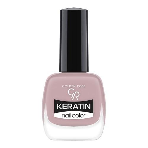 Golden Rose Keratin Nail Color 15 Keratynowy lakier do paznokci