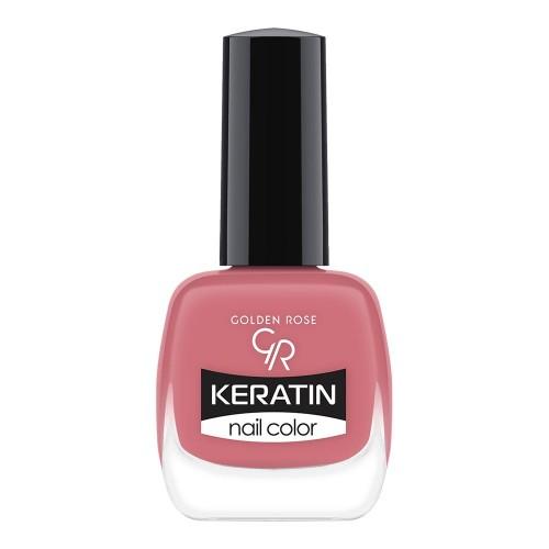 Keratin Nail Color - Keratynowy lakier do paznokci -30-Golden Rose