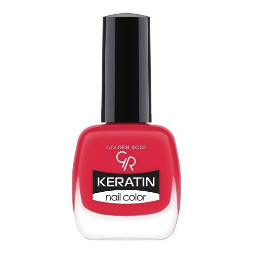 Golden Rose Keratin Nail Color 32 Keratynowy lakier do paznokci