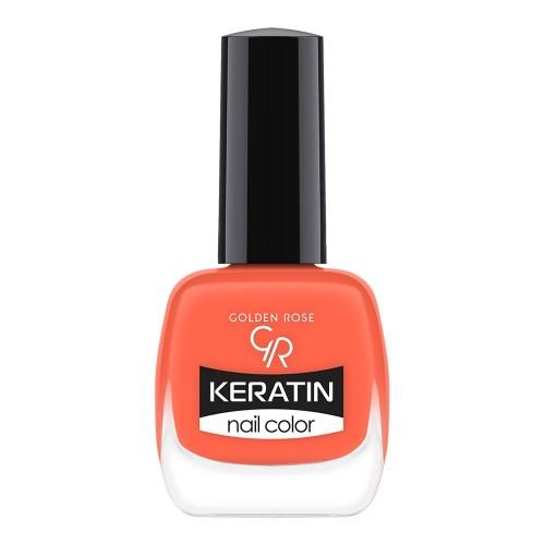 Golden Rose Keratin Nail Color 33 Keratynowy lakier do paznokci