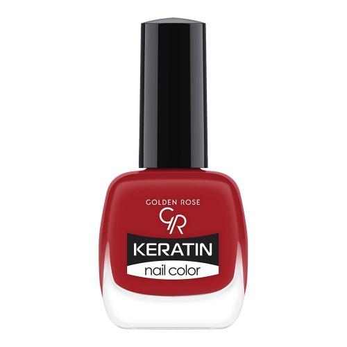 Golden Rose Keratin Nail Color 38 Keratynowy lakier do paznokci