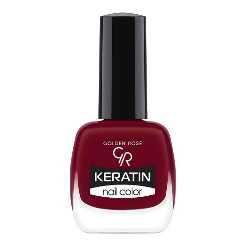Golden Rose Keratin Nail Color 41 Keratynowy lakier do paznokci