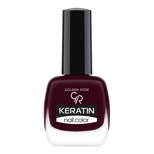Golden Rose Keratin Nail Color 46 Keratynowy lakier do paznokci