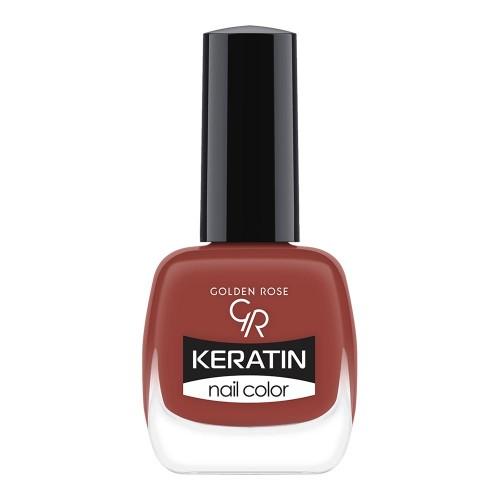 Keratin Nail Color - Keratynowy lakier do paznokci -47-Golden Rose